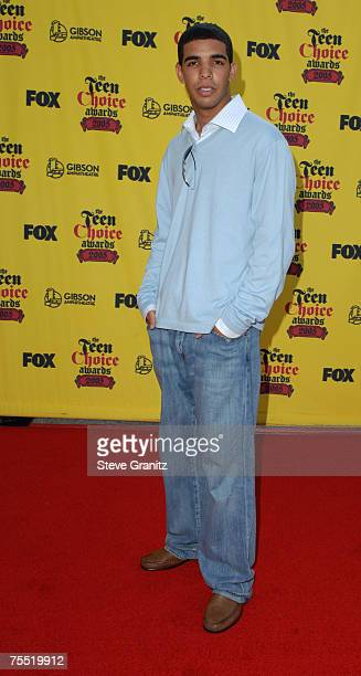 Aubrey Graham of 'Degrassi' at the Gibson Amphitheatre in Universal City California