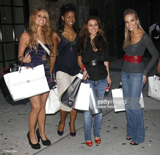Aubrey O'Bay Wanita Woodgette Audra Fimbres and Shannon Bex of Danity Kane