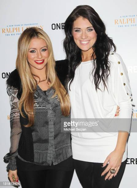 Aubrey O'Day and Krystal Bronson attend House Of Hype LIVEstyle Lounge on January 21 2011 in Park City Utah