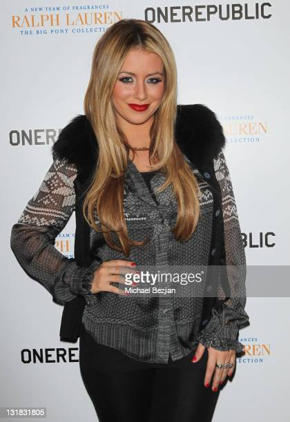 Aubrey O'Day attends House Of Hype LIVEstyle Lounge on January 21 2011 in Park City Utah
