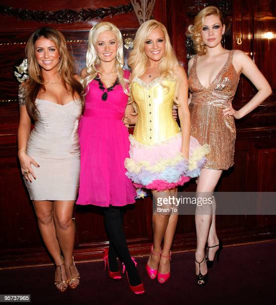 Aubrey O'Day Holly Madison Bridget Marquardt and Shanna Moakler attend Heel Hate Benefit For Matthew Shepard Foundation And NOH8 Campaign at House of...