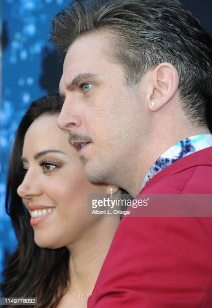 Aubrey Plaza and Dan Stevens arrive for the LA Premiere Of FX's Legion Season 3 held at ArcLight Hollywood on June 13 2019 in Hollywood California
