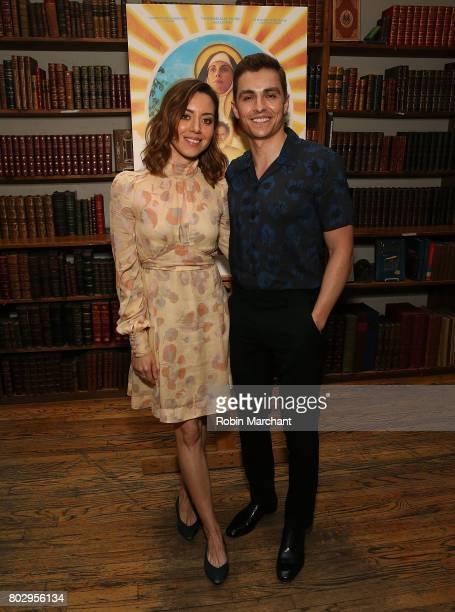 Aubrey Plaza and Dave Franco attends 'Little Hours' In Store Reading at Strand Bookstore on June 28 2017 in New York City
