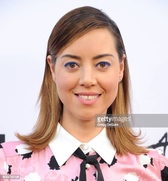 Aubrey Plaza arrives at the 2017 Los Angeles Film Festival Closing Night Screening Of Ingrid Goes West at Arclight Cinemas Culver City on June 22...