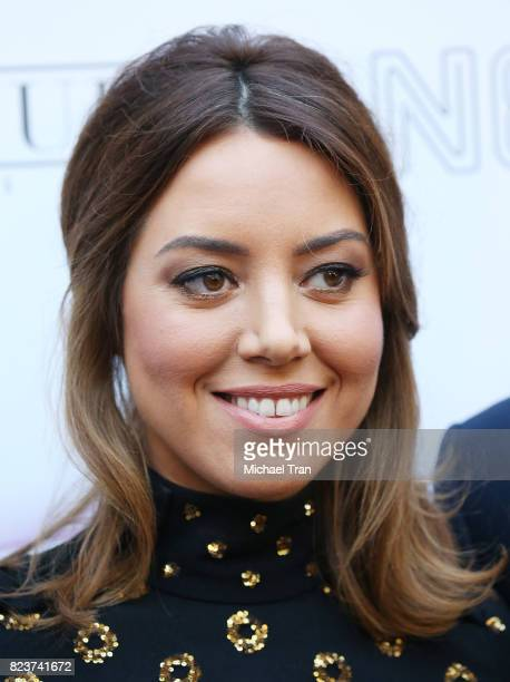 Aubrey Plaza arrives at the Los Angeles premiere of Neon's Ingrid Goes West held at ArcLight Hollywood on July 27 2017 in Hollywood California