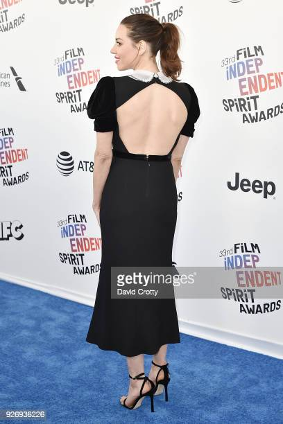 Aubrey Plaza attends the 2018 Film Independent Spirit Awards Arrivals on March 3 2018 in Santa Monica California