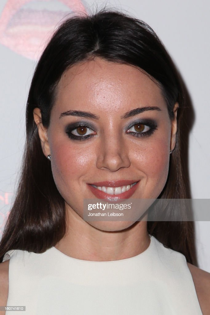 Aubrey Plaza attends the 'A Glimpse Inside The Mind Of Charlie Swan III' Los Angeles premiere at ArcLight Hollywood on February 4, 2013 in Hollywood, California.