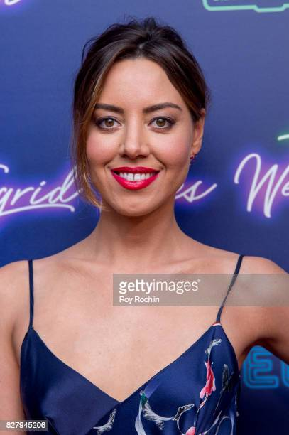 Aubrey Plaza attends The New York premiere of 'Ingrid Goes West' hosted by Neon at Alamo Drafthouse Cinema on August 8 2017 in the Brooklyn borough...
