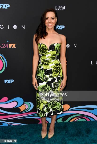 Aubrey Plaza attends the LA Premiere Of FX's Legion Season 3 at ArcLight Hollywood on June 13 2019 in Hollywood California