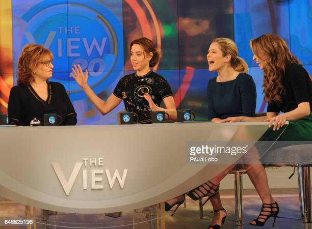 THE VIEW Aubrey Plaza is the guest Wednesday March 1 2017 on Walt Disney Television via Getty Images's The View The View airs MondayFriday on the...