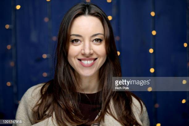 Aubrey Plaza of 'Black Bear' attends the IMDb Studio at Acura Festival Village on location at the 2020 Sundance Film Festival – Day 1 on January 24,...