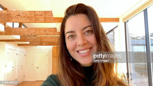 Aubrey Plaza speaks during Equality Now's Virtual Make Equality Reality Gala on December 03, 2020 in UNSPECIFIED, United States.