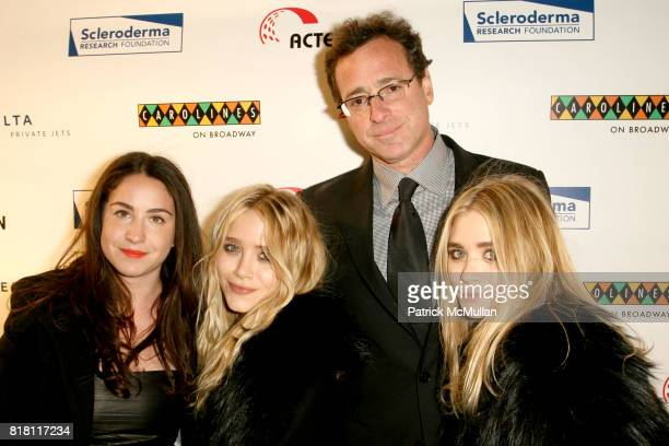 Aubrey Saget MaryKate Olsen Bob Saget and Ashley Olsen attend COOL COMEDY HOT CUISINE Gala to Benefit SCLERODERMA RESEARCH FOUNDATION at Caroline's...