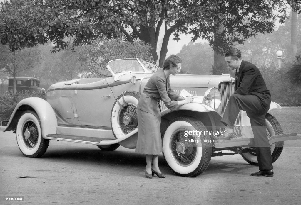 Auburn car, (c1930s?). : News Photo
