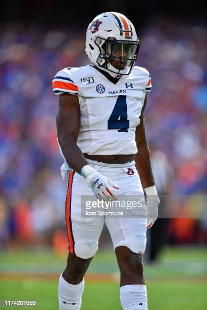 Auburn defensive back Noah Igbinoghene during the first half of a college football game between the Florida Gators and the Auburn Tigers on October...