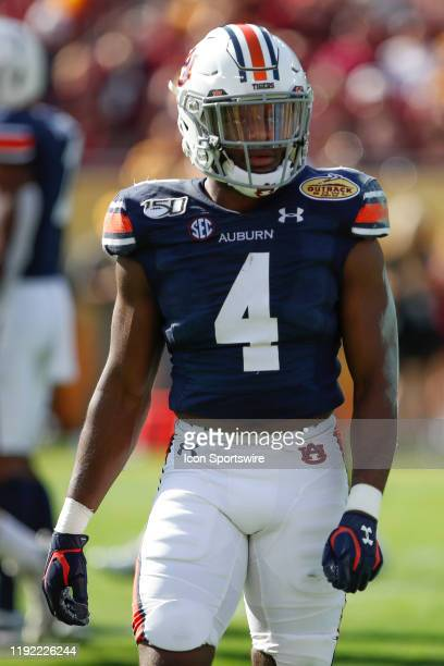 Auburn Tigers defensive back Noah Igbinoghene during the Outback Bowl between the Auburn Tigers and Minnesota Golden Gophers on January 01 2020 at...