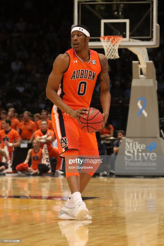 Auburn Tigers Forward Horace Spencer During The Game Between