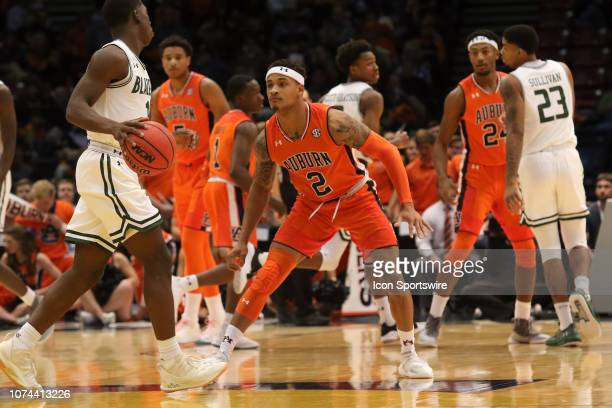 Auburn Tigers guard Bryce Brown guards UAB Blazers guard Zack Bryant during the game between the UAB Blazers and the Auburn Tigers on December 15...