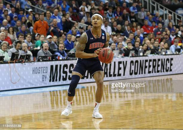 Auburn Tigers guard Bryce Brown in the first half of the NCAA Midwest Regional Final game between the Auburn Tigers and Kentucky Wildcats on March 31...