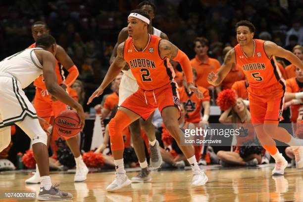 Auburn Tigers guard Bryce Brown on defense during the game between the UAB Blazers and the Auburn Tigers on December 15 at Legacy Arena in Birmingham...
