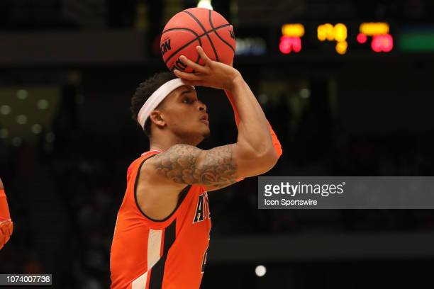 Auburn Tigers guard Bryce Brown takes a shot in the game between the UAB Blazers and the Auburn Tigers on December 15 at Legacy Arena in Birmingham...