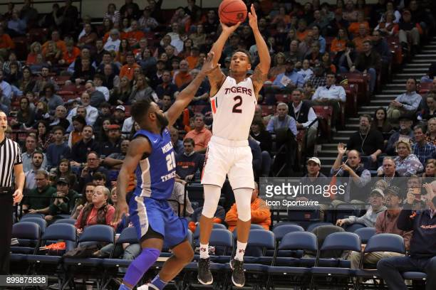 Auburn Tigers guard Bryce Brown takes a three pointer in the game between the Middle Tennessee Blue Raiders and the Auburn Tigers Auburn defeated...