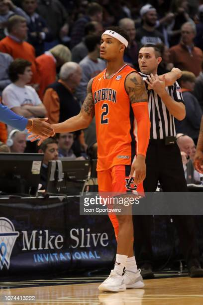 Auburn Tigers guard Bryce Brown warms up before the game between the UAB Blazers and the Auburn Tigers on December 15 2018 at Legacy Arena in...