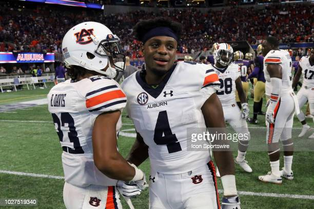 Auburn Tigers wide receiver Noah Igbinoghene after the Chickfila Kickoff Game between the Washington Huskies and the Auburn Tigers on September 1...