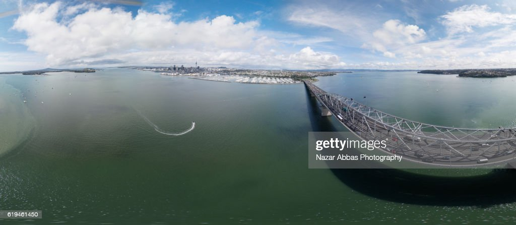 Auckland 360 Panorama. : Stock Photo