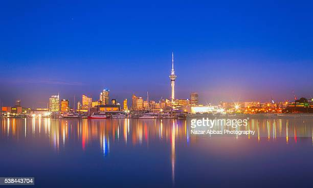 Auckland After Dusk.