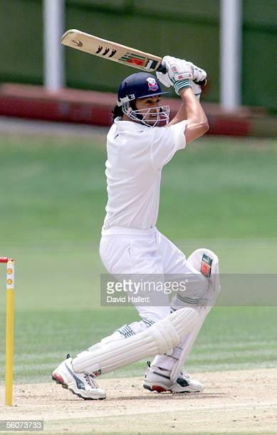 Auckland batsman Tama Canning in action during the Shell Trophy Cricket match Auckland V Northern Districts at Eden Park FOPTPRESS