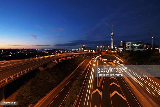 Auckland City at Dusk