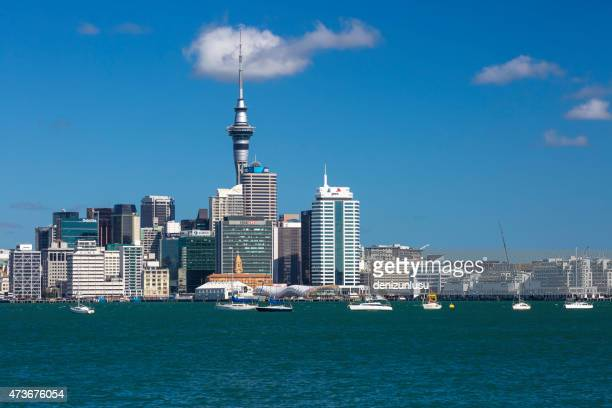 auckland city - aotea square stock photos and pictures