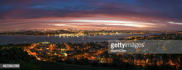 Auckland City - Stunning twilight show