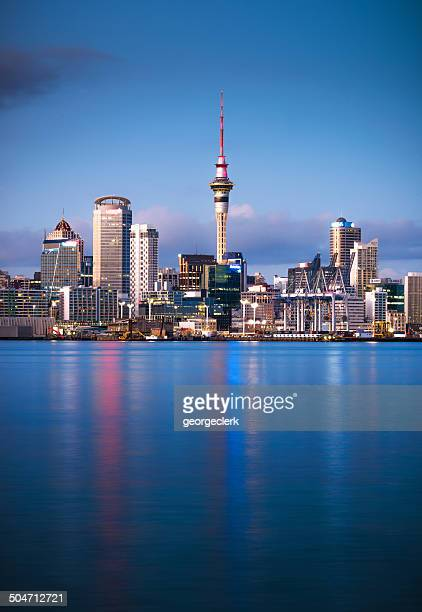 auckland dawn - auckland stock pictures, royalty-free photos & images