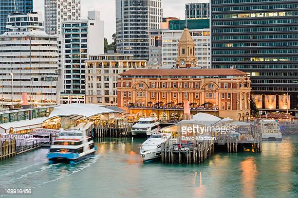 auckland ferry terminal. - auckland stock pictures, royalty-free photos & images