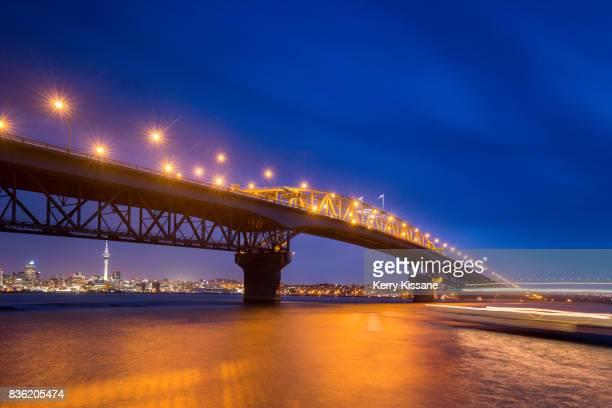 Auckland Harbour Bridge at Twilight