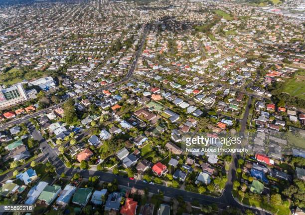 auckland housing. - housing development stock pictures, royalty-free photos & images