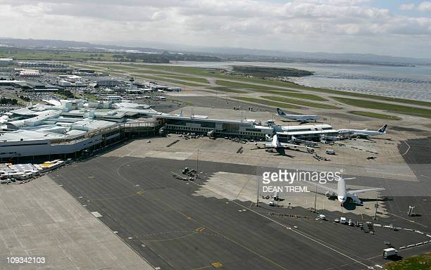 Auckland International Airport is seen with the existing southern runway terminals and infrastructure which will be home to a new runway 04 October...