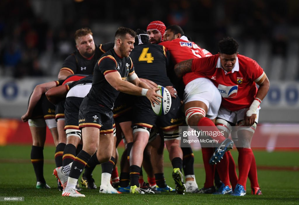 Tonga v Wales : ニュース写真