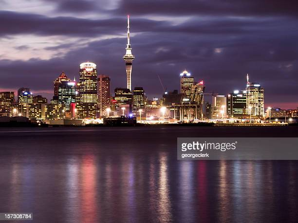 Auckland Night Skyline