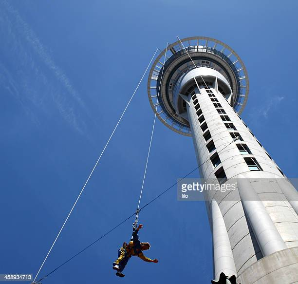 Auckland Sky Tower Bungee-Jumping