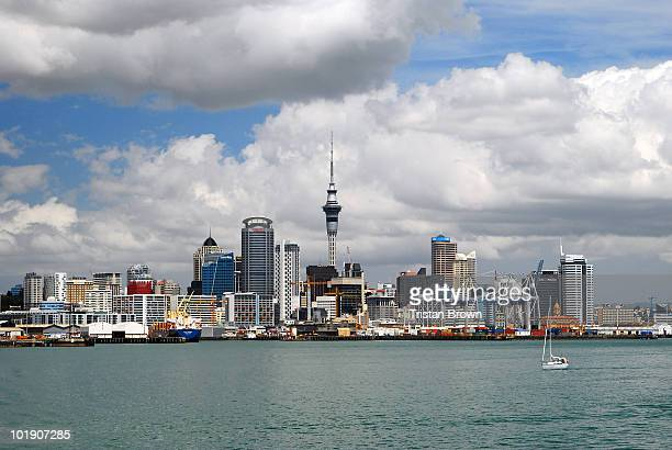 Auckland skyline, New Zealand, North Island