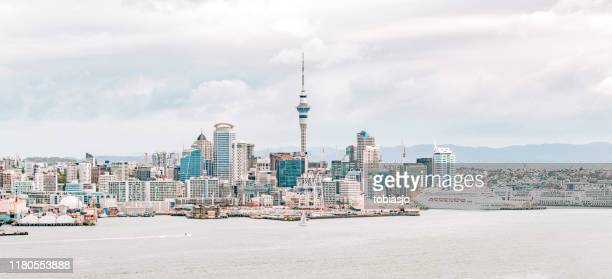 auckland skyline - 2018 stock pictures, royalty-free photos & images
