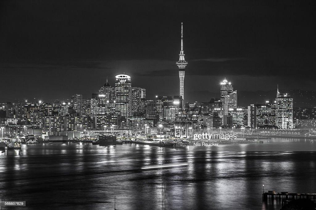 Auckland skyline : Stock Photo