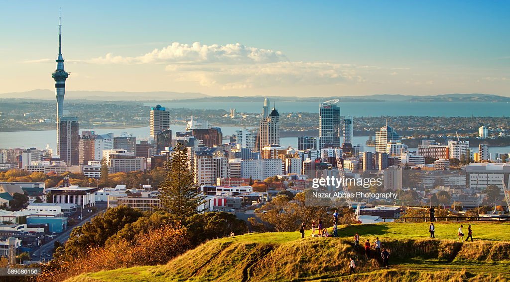 Auckland Skyline : Stock Photo