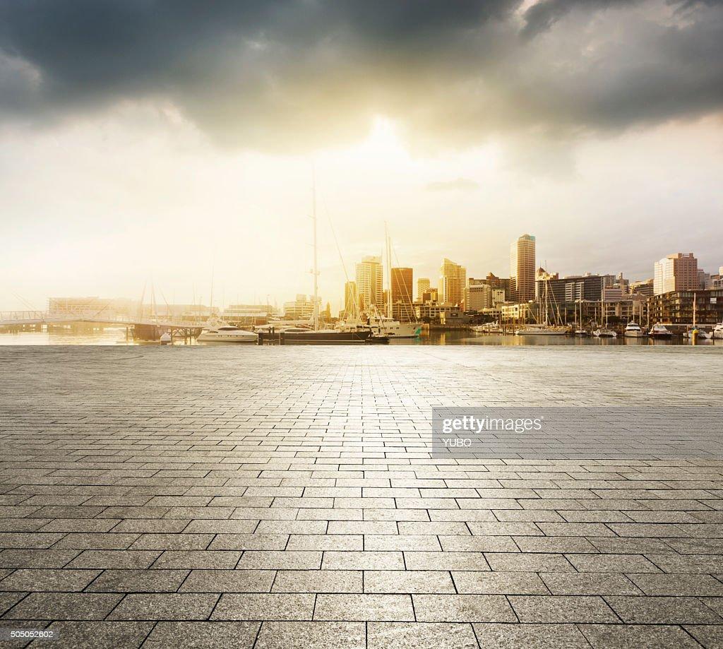Auckland Sunset : Stock Photo
