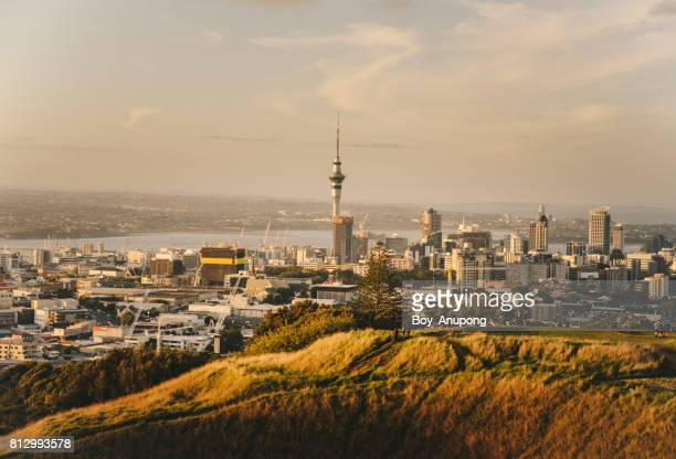 Auckland the largest city of New Zealand.