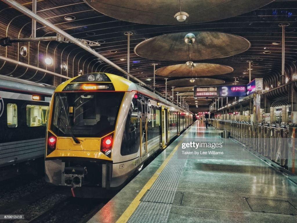 Auckland train station : Stock Photo
