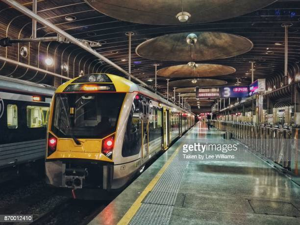 auckland train station - railway station stock pictures, royalty-free photos & images